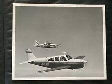 BEECHCRAFT C33A DEBONAIR SUPER III AIRPLANE AVIATION ADVERTISING PHOTO 8 X10 EX
