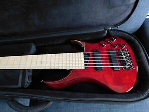 MTD Kingston Z6 6 String Bass Trans Cherry Brand New  W/MTD  Deluxe Gig Bag !