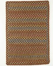 Woodstock Spacedyed Multi Soft Durable Country Cabin Braided Rug Hickory WO31
