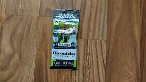 2020 Panini Chronicles Football NFL FAT PACK. Brand New Factory Sealed!