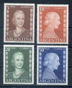 ARGENTINA *1952* compl.set 4 stamps* MNH** Eva Peron - Mi.No 607-610