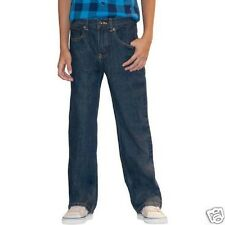 Faded Glory Husky Boys Relaxed Fit Blue Jeans Size 8H
