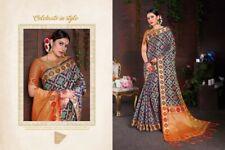Traditional Banarasi Pure Katan Heavy Silk Sare South Indian for Party Wear sari