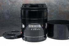 - Minolta Maxxum AF 100mm F2 Lens for Sony Alpha or Minolta Maxxum (av)