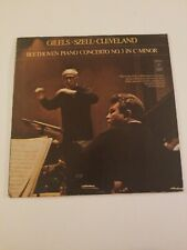Gilels Szell Cleveland - Beethoven Piano Concerto No. 3 Angel s-36029