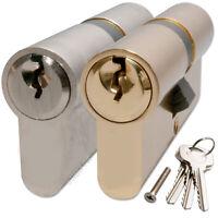 Standard Euro Profile Cylinder Door Barrel Lock for uPVC Aluminium Timber Lock