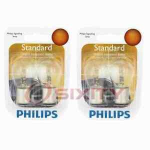 2 pc Philips 1156B2 Tail Light Bulbs for 77614 Electrical Lighting Body op