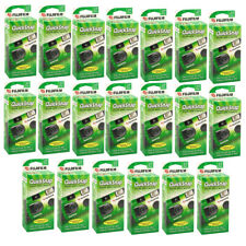Fujifilm QuickSnap Flash 400 Disposable 35mm Camera 20 Pack
