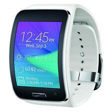 Samsung Galaxy Gear S - White Curved Smart Watch - Compatibility WiFi & Verizon