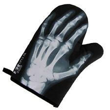 Skeleton Hand Bones Oven Mitt Hot Stove BBQ Glove Human X-Ray Bone Pot Holder