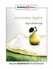 Intermediate Algebra, MyMathLab Edition (5th Edition), Martin-Gay, Elayn, Good C