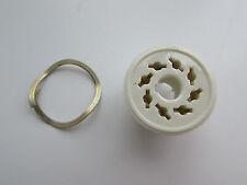 8 pin exUSSR ceramic socket for octal tube KT88/EL34/6550/6SN7 e.t.c., NOS