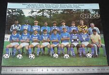 CLIPPING POSTER FOOTBALL 1985-1986 D2 ENTENTE CHAUMONT AC