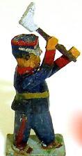 Cheminots avec Houe Preiser (?) Figurines en bois Années 50 Ans H0 1:87 PH022 å