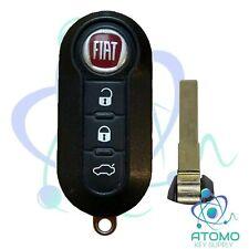 2012 - 2017 OEM Fiat 500, 500X Remote Flip Key FCC: LTQFI2AM433TX