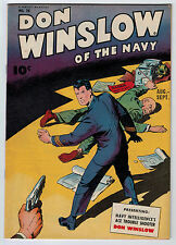 DON WINSLOW #28 6.0 FAWCETT OFF-WHITE PAGES GOLDEN AGE
