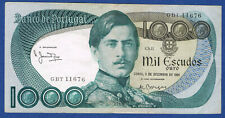 Banknote of portugal. 1000 escudos pick no 175 of 3 December 1981 in Apcs gbt 11.