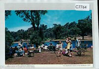 C7764cgt Australia WA Kings Park Lake Perth postcard