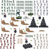 250 pcs/Set Military Model Playset Toy Soldier Army Action Figures Plan Tank he