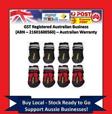 PomPreece - Dog Cat Shoes Red Black High Performance Running Boots Paws Injury C