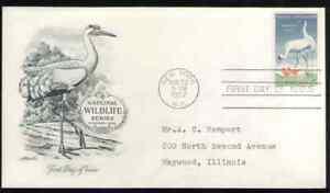 US. 1098. 3c. Wildlife Conservation Issue. Artmaster FDC. 1957