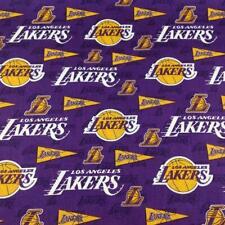 Lakers, Basketball NBA Sport Poplin Digital Printed Fabric By The Yard