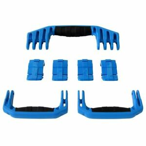 New Pelican Blue 1610 / 1620 replacement latches (4) & handles (3) kits.