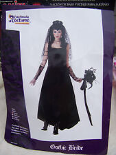 Gothic Bride Adult costume size small