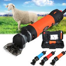 Tondeuse à Mouton 6-Vitesse Réglale Machine de Tonte Animaux Chèvre 3 Couleurs