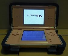 Nintendo DS Lite Pink Handheld Video Game Console Broken Hinge