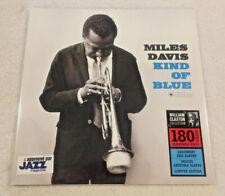 "MILES DAVIS: ""Kind of Blue"": NEW 180g STEREO LP REISSUE:GATEFOLD:William Claxton"