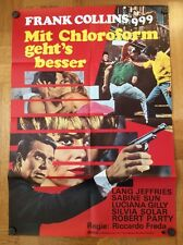 Mit Chloroform geht's besser  (Kinoplakat/Filmplakat '68) - Lang Jeffries