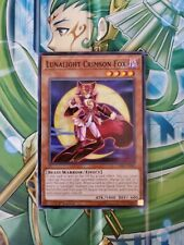 Yugioh CIBR-EN090 Lunalight Crimson Fox 1ST Edition Common NM yugioh!