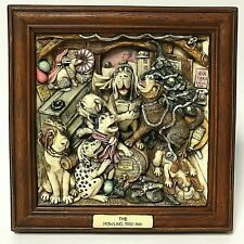 Harmony Kingdom Picturesque The H 00006000 owling Tree Inn 3D Dog Picture Plaque