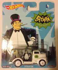 2015 Hot Wheels Batman Pop Culture Classic PENGUIN '49 FORD COE * Fast Ship *14B