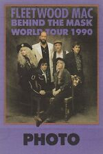 Fleetwood Mac Behind The Mask World Tour 1990 Photo Pass