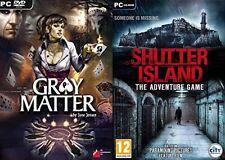 Gray Matter & Shutter Island NEU & VERSIEGELT