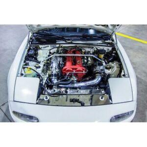 RADIATOR PANEL NO ABS BLACK FITS MAZDA MX5 NA Jass Performance 5201