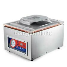 260C Commercial Vacuum Sealer System Food Sealing Packing Machine Kitchen Storag