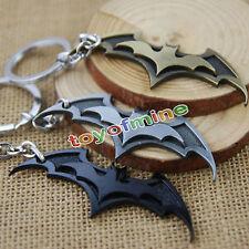 New Cool portachiavi Batman Dark Knight dell'anello del metallo
