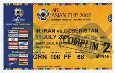 Orig.ticket AFC-Asian Cup 2007 Iran-Ouzbékistan!! RARE