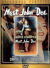 Frank Carpa's MEET JOHN DOE-DVD~Gary Cooper/ Barbara Stanwyck-Factory Sealed-NEW