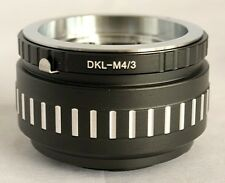 Voigtlander Retina DKL Lens to Micro 4/3 M4/3 M43 Mount Adapter GX1 OM-D DKL-M43