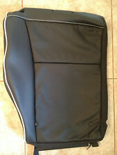 2011-12 Ford Fiesta Factory Original REAR UPPER Seat Cover (Black Leather)