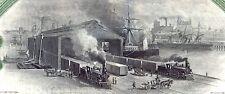 Lake Shore & Michigan Southern Railway Bond Stock Certificate Railroad 1906