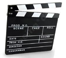 Filmklappe TV-Klappe Regieklappe 30 x 26 cm Film-Klappe Regie-Klappe Movieklappe