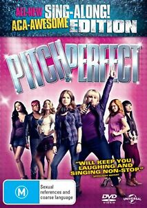DVD PITCH PERFECT SING-ALONG EDITION REBEL WILSON KENDRICK BRAND NEW UNSEALED