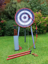 Kids Garden Archery Set Safe Bow And Arrow Blow Pipe Darts Target Stand a
