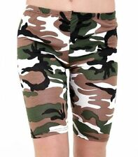Camouflage Machine Washable Shorts for Women