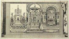 Nápoles/napoli-kirchenaltäre-S. Maria della Nova-grabado 1713